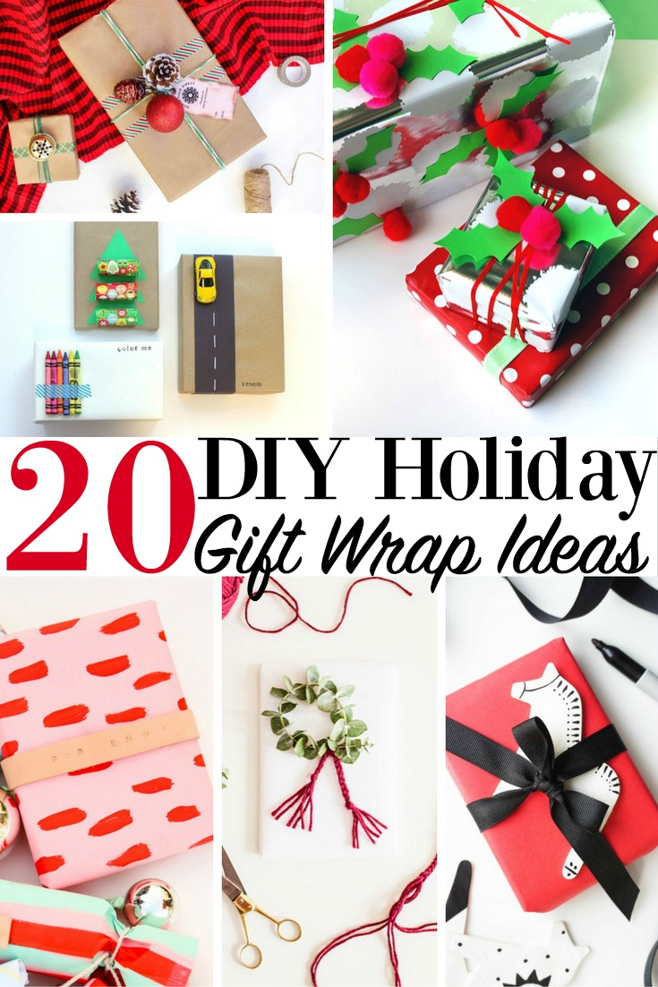 20 Diy Holiday Gift Wrap Ideas Christmas Presents