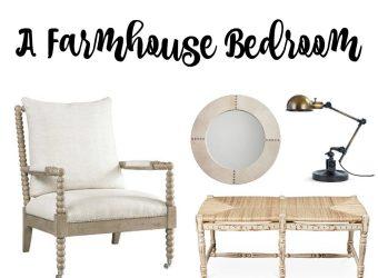 A Farmhouse Bedroom