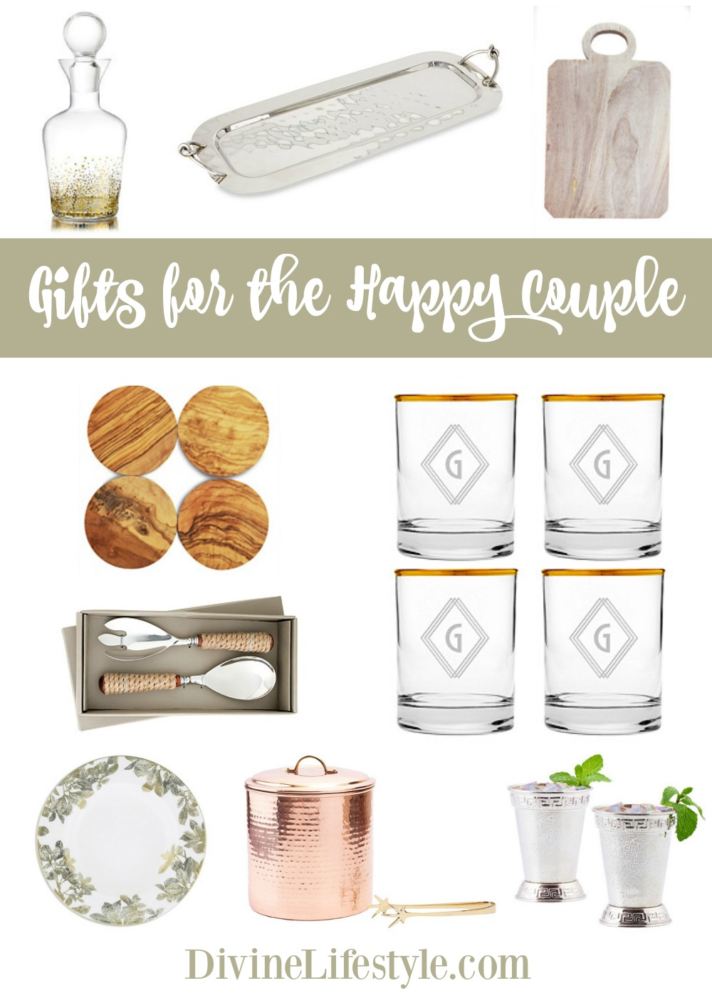 Wedding Season: Gifts Under $60 for the Happy Couple