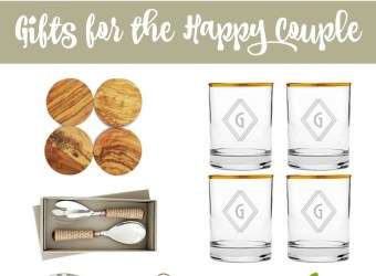 Wedding Season: Gifts for the Happy Couple