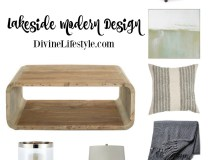 Lakeside Modern Design Pieces