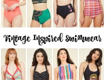 Vintage Inspired Swimwear for Women