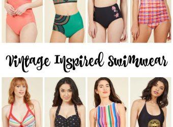 Vintage Inspired Swimwear for Women