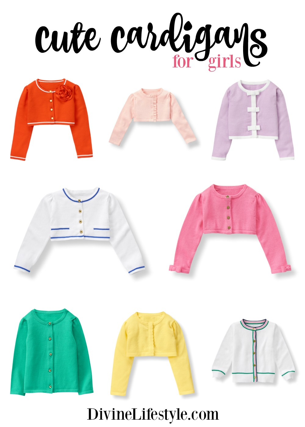 Cute Cardigans for Girls