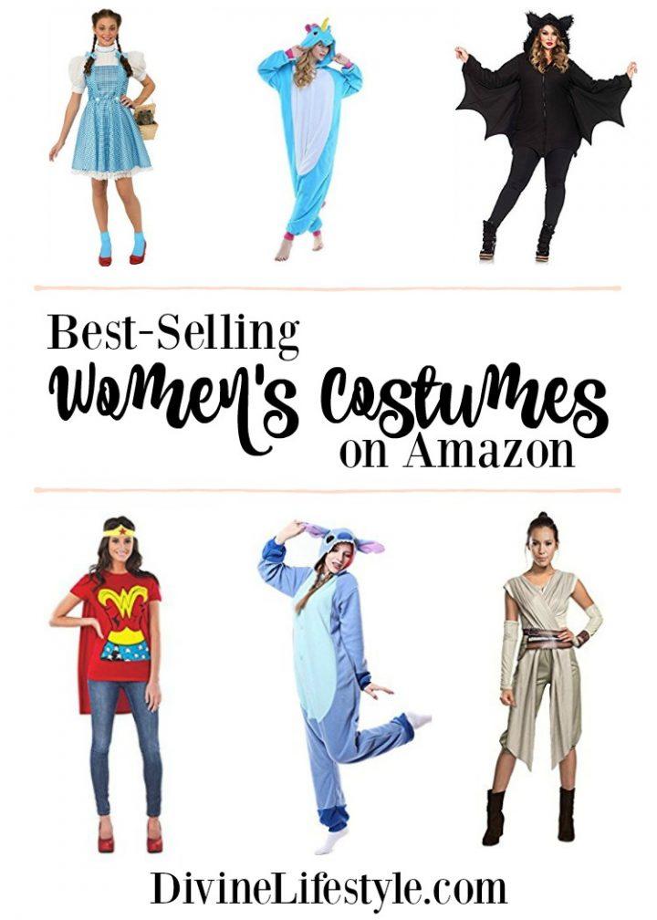 10 Best-Selling Women's Costumes on Amazon