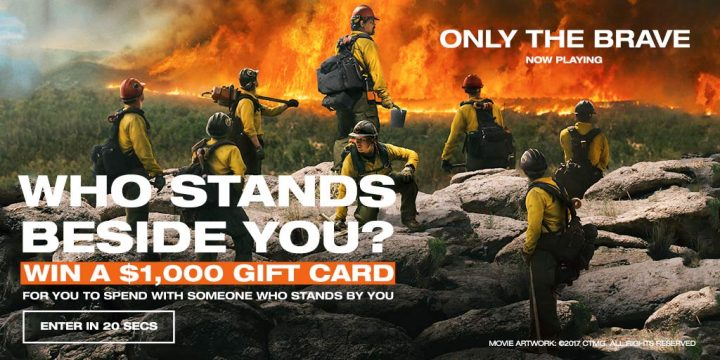 WIN a $1000 Gift Card to Spend with Someone Who Stands By You
