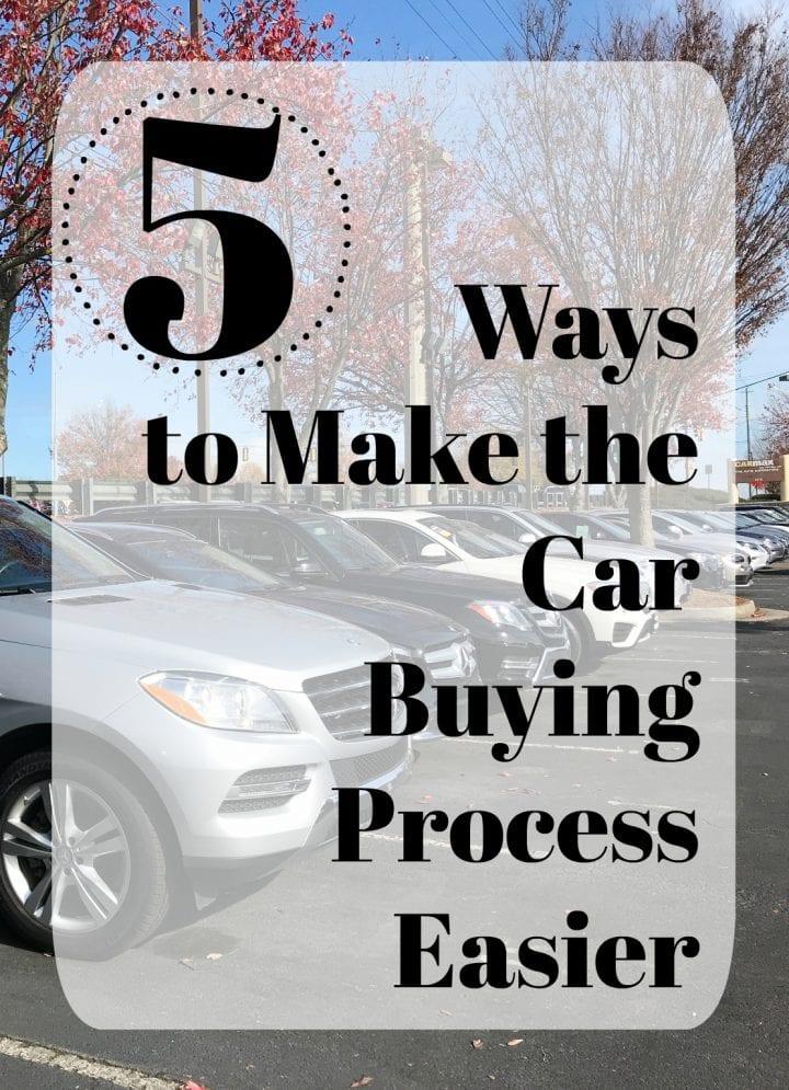 5 Ways to Make Car Buying Easier CarMax