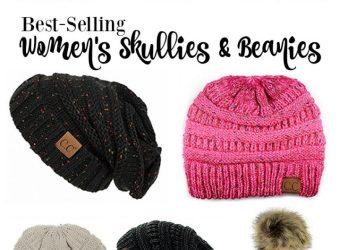 Best-Selling Women's Skullies & Beanies on Amazon