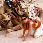 Enlightertainment with Glenn Younger, author of spiritual books, Petra Jordan Glenn and a camel