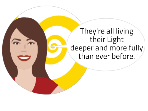 "Glenn Younger with Enlightertainment (Enlightening/Entertaining Spiritual Awakenings) for Self-Explorers and New Thought Thinkers ""They're all living their Light deeper and more fully than ever before"""