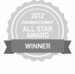 Constant Contact 2012 All Star Award Winner