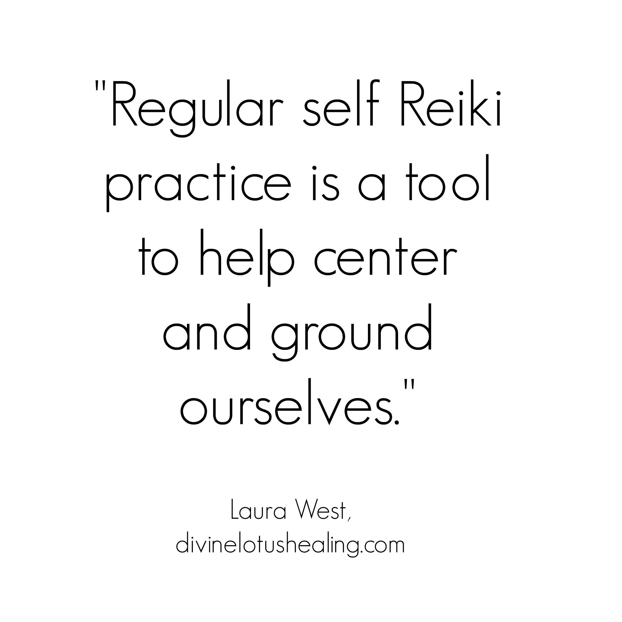 Self Reiki Practice Benefits