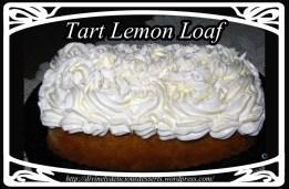tart lemon loaf