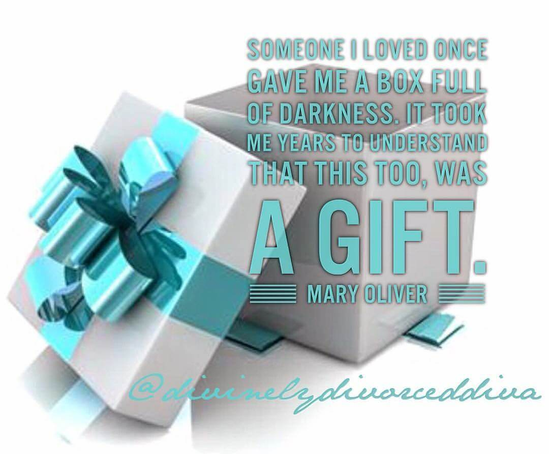 Turning The Box of Darkness of Divorce Into a Gift