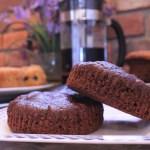 gourmet gluten free mint flavored brownies