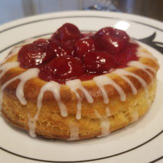 gluten free cherry danish