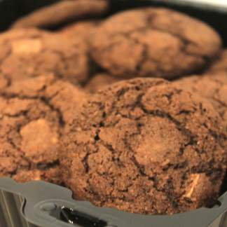 Gluten Free Chocolate Chocolate Chunk Cookie