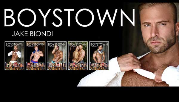 Biondi re-launches entire BOYSTOWN series ahead of book seven release