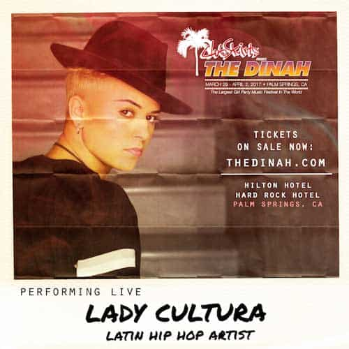 One Night Only- Special Appearance by Latin Rapper Lady Cultura – Live at the Dinah