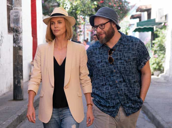 Long Shot starring Charlize Theron and Seth Rogen debuts new trailer