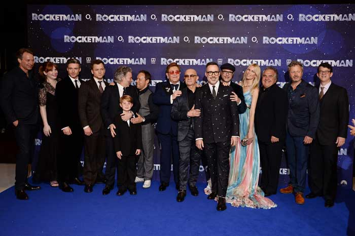 Rocketman Lifts Off In London! See The Stars Of The Film Light Up The Red Carpet
