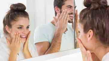 men woman skin care