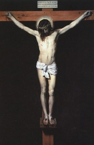 Christ en croix - Velasquez