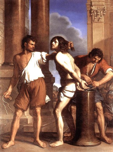 La flagellation - Guercino