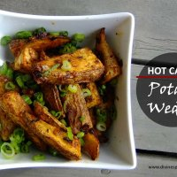 Hot Cajun Potato Wedges