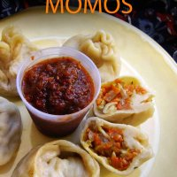 Carrot Cabbage Momos
