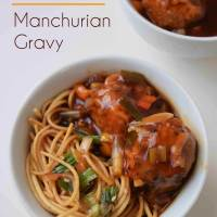 Meatless Monday- Mixed Vegetable Manchurian Gravy