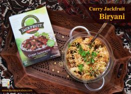 Curry Jackfruit Biryani
