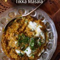 Eggplant Tikka Masala