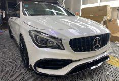 merc cla180 pearl white best car spray painting sg. car spray singapore. purple pearl white. blue pearl white merc cla180 divinesplash.com car spray painting. cheap car spray sg