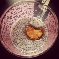 Chia pudding recept