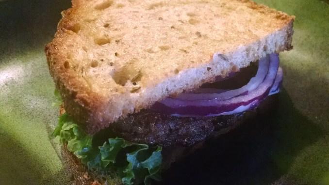 Savory Mushroom Burger