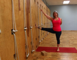 Iyengar Yoga Rope Wall