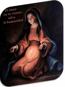 Virgen María en espera