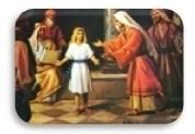 María encuentra a su hijo Jesús