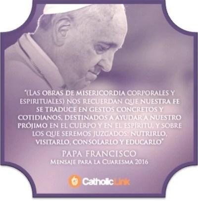 Papa Francisco 2016