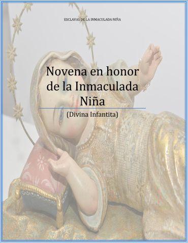 Novena en honor de la Inmaculada Niña