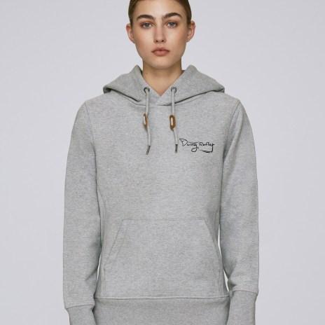 Tee-shirt gris pour femmes avec le logo Diving Reflex