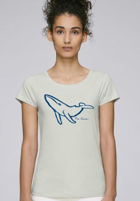 Tee-shirt pour femmes avec le motif The Queen - Diving Reflex