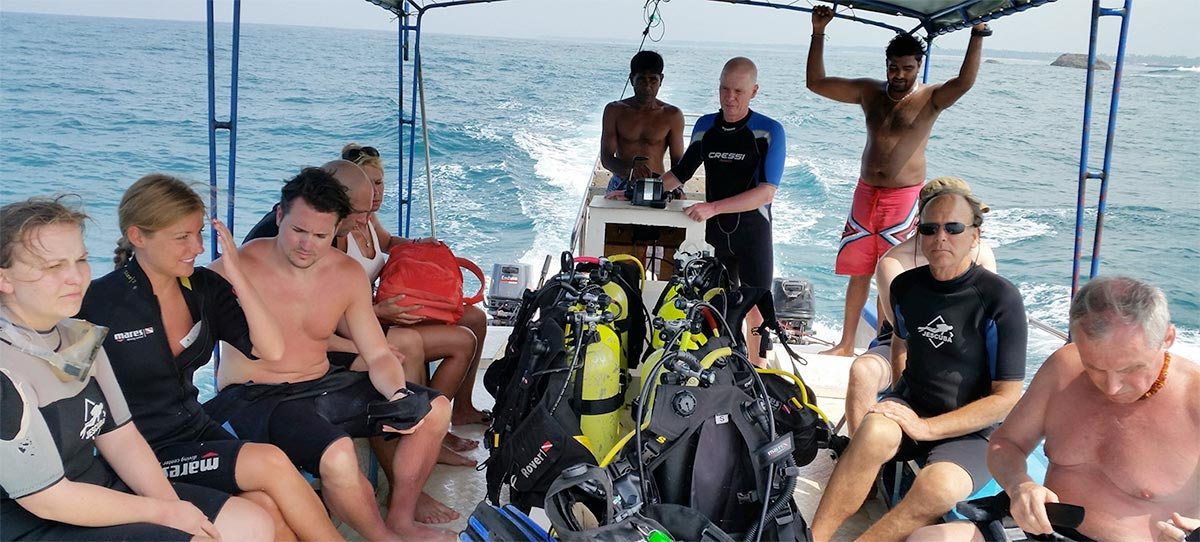 The International Diving School Boat Diving