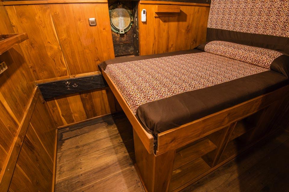 Pindito Liveaboard double cabin