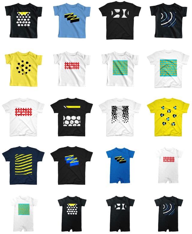 魚柄のダイビングTシャツ