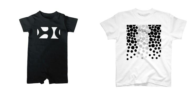 アジアコショウダイのダイビングTシャツ&ロンパース