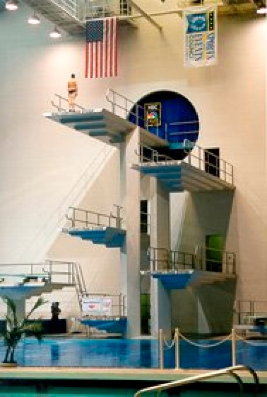 diving bubble system king county aquatic center