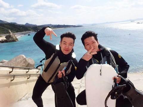 ゴリラチョップ 沖縄ダイビング