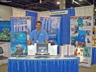 At Our World Underwater, Chicago, in 2008. Photo © Diving Almanac